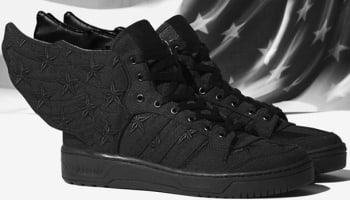 adidas JS Wings 2.0 Black/Black