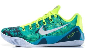 Nike Kobe 9 EM Turbo Green/Metallic Silver-Volt-Black