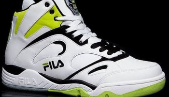 Fila KJ7 White/Neon Green-Black