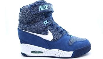 Nike Air Revolution Sky Hi Women's FW QS Brave Blue/White-Hyper Turquoise
