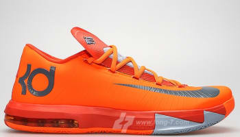 Nike KD 6 NYC 66 Total Orange
