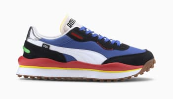 Puma Style Rider Daz Blue-Black-High Risk Red