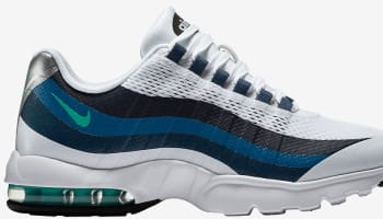 Nike Air Max '95 Ultra Women's White/Crystal Mint-Brigadiere Blue-New Slate
