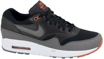 Nike Air Max 1 Essential Black/Cool Grey-Anthracite-Team Orange