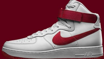 Nike Air Force 1 High White/Varsity Red