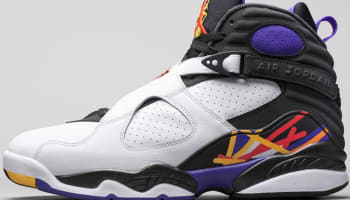 Air Jordan 8 Retro White/Infrared 23-Black-Bright Concord