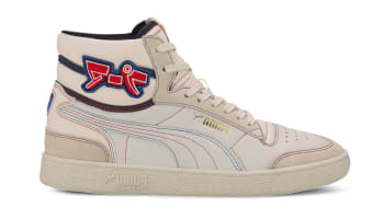 Puma Ralph Sampson Mid Japanorama Whisper White-Puma Black-High Risk Red