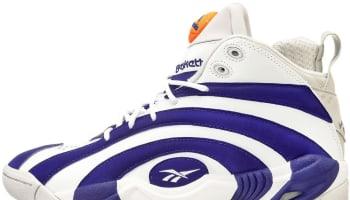 Reebok Pump Shaqnosis Reebok Royal/White-Sheer Grey-Flux Orange
