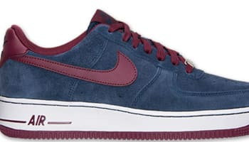 Nike Air Force 1 Low Midnight Navy/Deep Garnet
