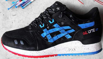 Asics Gel-Lyte III Black/Blue-Red