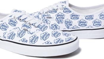 Vans Authentic White/Blue