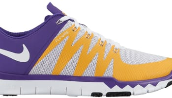 Nike Free Trainer 5.0 V6 Amp Court Purple/White-University Gold