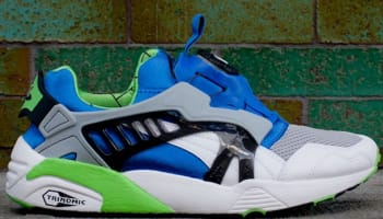 Puma Disc Blaze OG White/Snorkel Blue-Green Flash