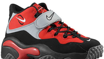 Nike Air Zoom Turf Fire Red/White-Black-Metallic Silver