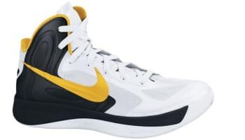 Nike Zoom Hyperfuse 2012 White/Black-University Gold
