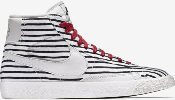 Nike Blazer Mid Premium VNTG White/White-Dark Obsidian-Gym Red
