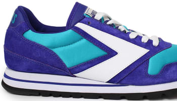 Brooks Chariot Turquoise/Purple-White