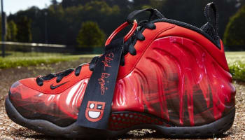 Elijah's Nike Air Foamposite One Premium DB Doernbecher