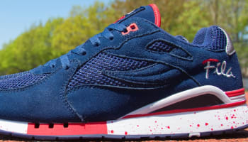 Fila Overpass Navy/Red-White
