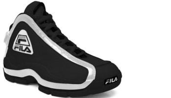 Fila 96 Black/White-Metallic Silver