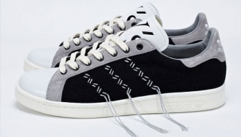 adidas Consortium Stan Smith Black/Aluminum-Legacy White