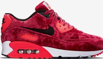 Nike Air Max '90 Anniversary Women's Gym Red/Black-Infrared-Metallic Gold