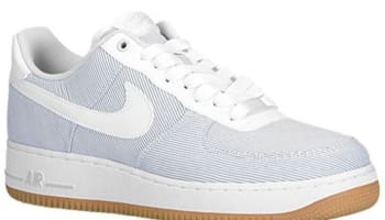 Nike Air Force 1 Low Pure Platinum/White-Gum Light Brown