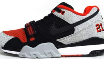 Nike Air Trainer 2 Premium QS Black/Black-Team Orange-Wolf Grey