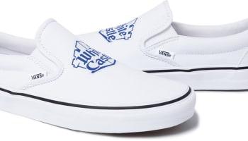 Vans Slip-On White/Blue