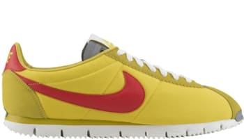 Nike Cortez NM QS Tour Yellow/Gamma Orange-Metallic Silver-Linen