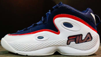 Fila 97 White/Fila Navy-Fila Red
