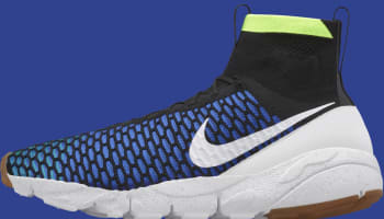 Nike Air Footscape Magista SP Black/Game Royal-Volt-White