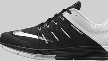 Nike Air Zoom Elite 8 Black/Metallic Silver-White