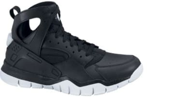 Nike Air Huarache BBall 2012 Black/Black-White