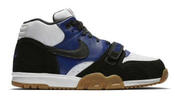 Polar Skate Co. x Nike SB Air Trainer 1 Black/Black-Deep Royal Blue-Summit White