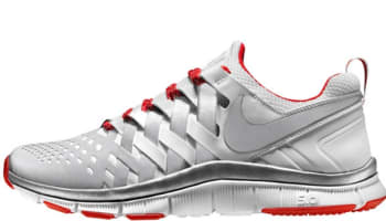 Nike Free Trainer 5.0 Reflect Silver/Reflect Silver-University Red