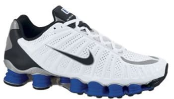 Nike Shox TLX White/Black-Old Royal-Metallic Silver