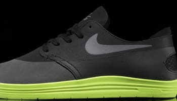Nike Lunar One Shot SB Black/Reflective Silver-Volt