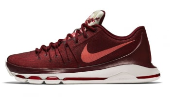 Nike KD 8 'Perseverance' Team Red-Bright Crimson-White-Sail-University Red