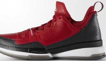 adidas D Lillard 1 Collegiate Red/Black-White