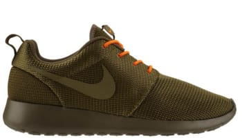 Nike Roshe Run Squadron Green/Total Orange