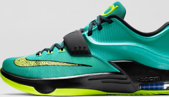 Nike KD VII Hyper Jade/Black-Photo Blue-Volt