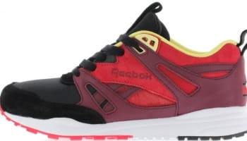 Reebok Ventilator Black/Wine-Red-White-Yellow