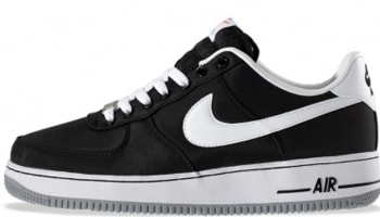 Nike Air Force 1 Low Black/White-Wolf Grey