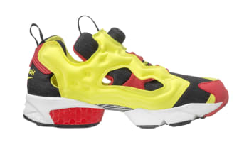 Reebok Instapump Fury OG Black/Hyper Green-Red-White