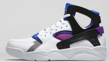 Nike Air Flight Huarache Premium QS White/Black-Lyon Blue-Bold Berry