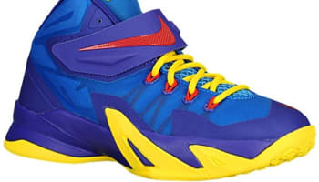 Nike Zoom Soldier VIII GS Light Photo Blue/Dark Concord-Tour Yellow-Challenge Red