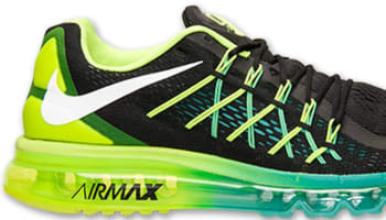 Nike Air Max 2015 Black/White-Volt-Hyper Jade