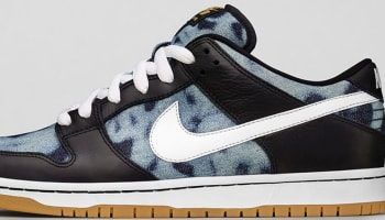 Nike Dunk Low Premium SB Black/White-Midnight Navy