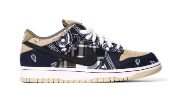 Travis Scott x Nike SB Dunk Low Black/Parachute Beige-Petra Brown-Black
